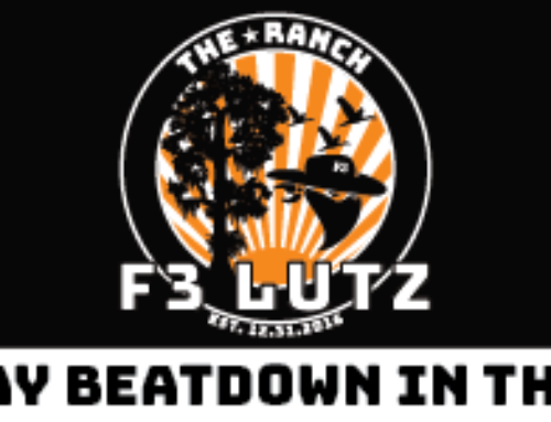 Proud to be part of F3 Lutz