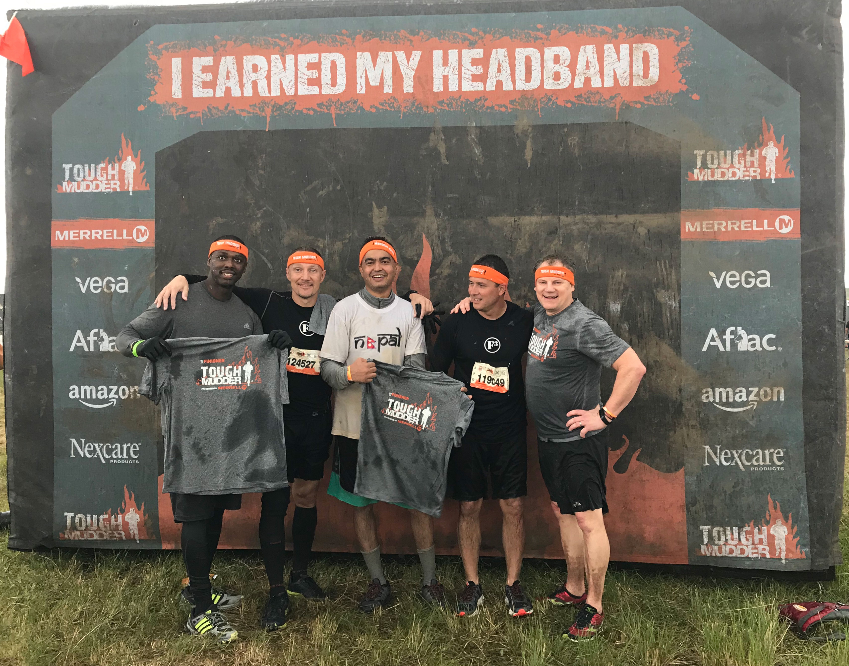Tough Mudder 2017 Central Florida Completed!